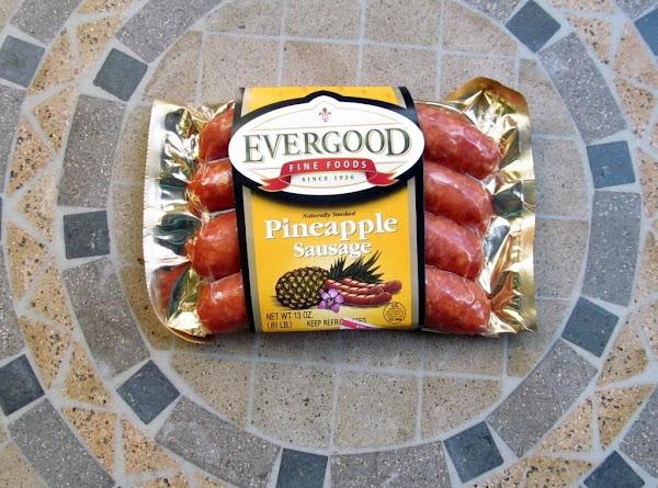 Aloha Sausage And Peppers Recipe