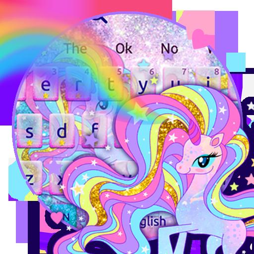 Pink Unicorn Keyboard
