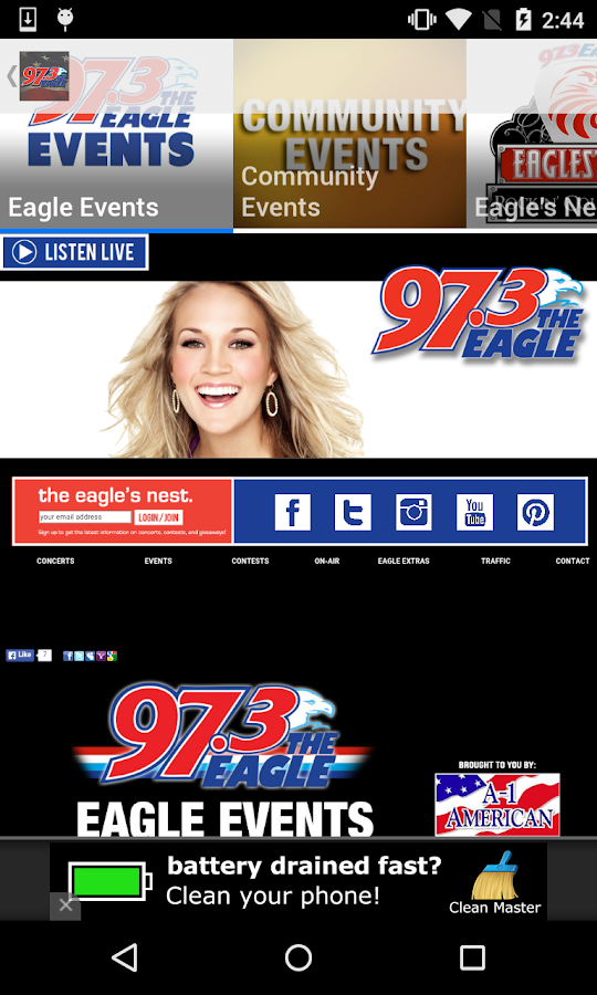 97.3 The Eagle- screenshot