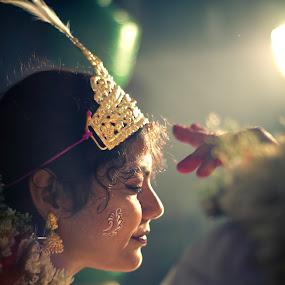Happy... by Sourabh Bandyopadhyay - Wedding Bride