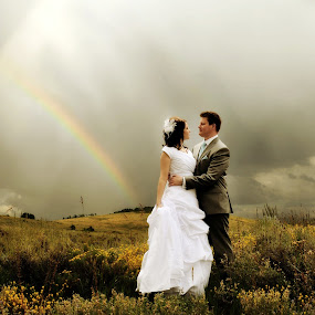 by Aaron Despain - Wedding Bride & Groom
