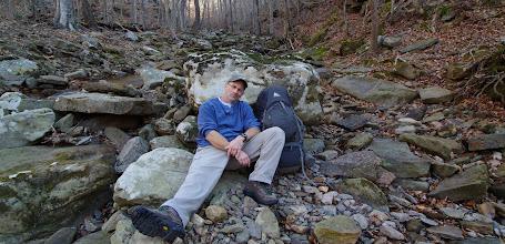 Photo: Pat on Boen Gulf Branch