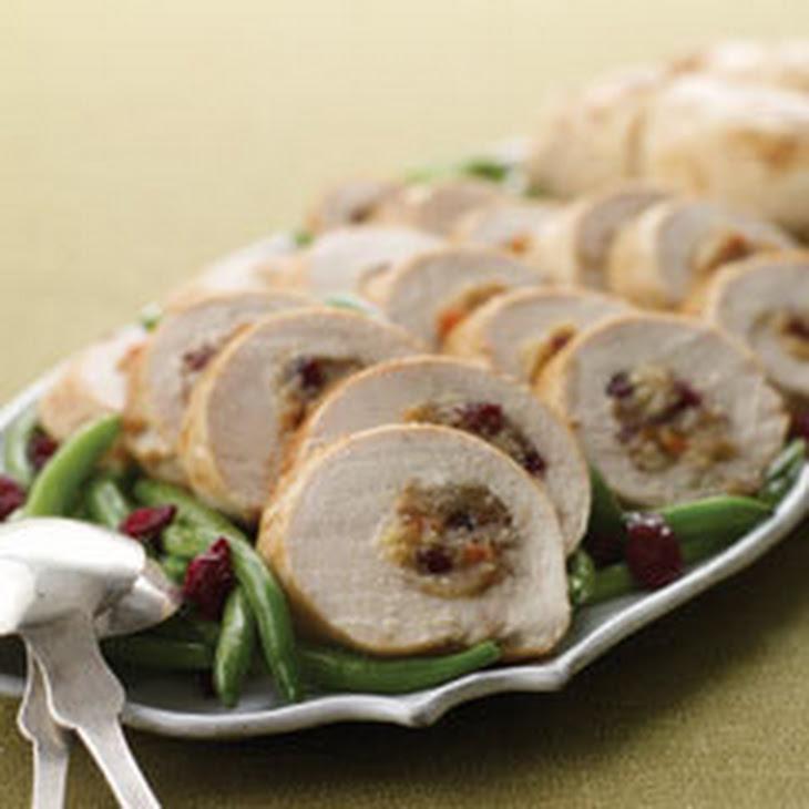 Pecan & Cranberry-stuffed Chicken Breasts