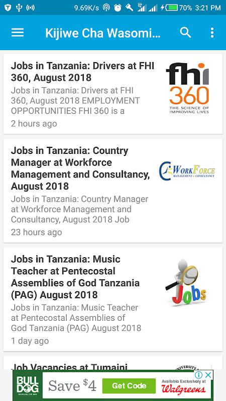 Download Jobs In Tanzania - Ajira Zetu TZ Jobs Portal apk