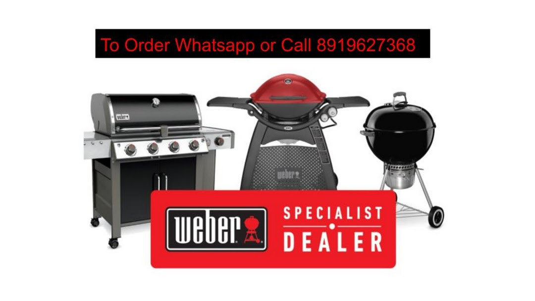 Weber Original Store India Gas Lpg Charcoal Barbecue