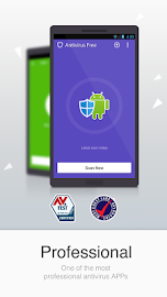 Antivirus Free-Mobile Security Screenshot 1