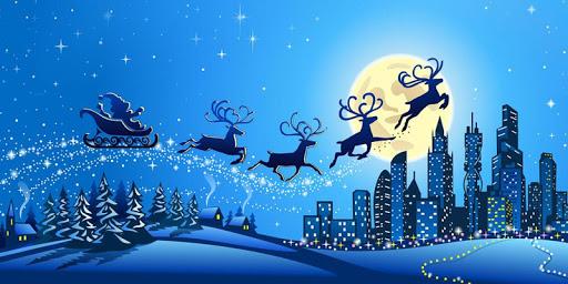 圣诞节圣诞老人平安夜主题--祝福圣诞快乐