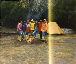 Photo: 1988 - Bariloche, Campamento anual Posta femenina