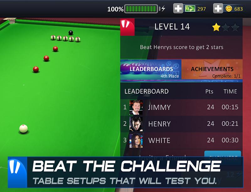 Snooker Stars - 3D Online Sports Game Screenshot 16