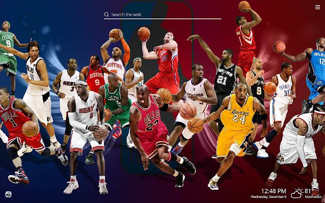 NBA Legends Basketball HD Wallpaper Theme
