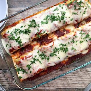Ground Turkey Lasagna Rolls.