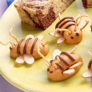 Peanut Butter Bee's (or Bunnies).