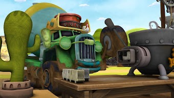 Trucktown Rodeo / Super Hero Trucks