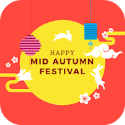 Mooncake Festival Greeting Cards icon
