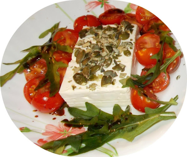 Salted Cheese With Ruccola Recipe