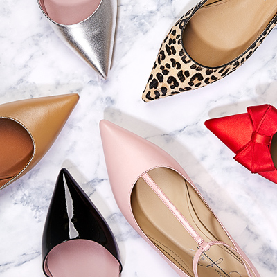 Allie, the pointed toe flat