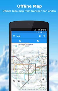 Tube Map - London Underground route planner - náhled