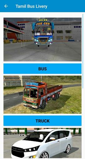 Tamil Bus Mod Livery   Indian Bus simulator 1.6 screenshots 2