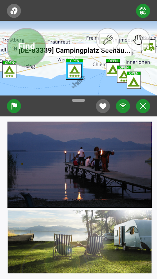 Camping.Info by POIbase Campsites & Pitches- screenshot