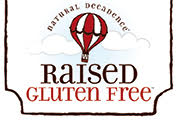 Raised Gluten Free logo
