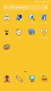 Cartoon Party theme for APUS v1.0.0