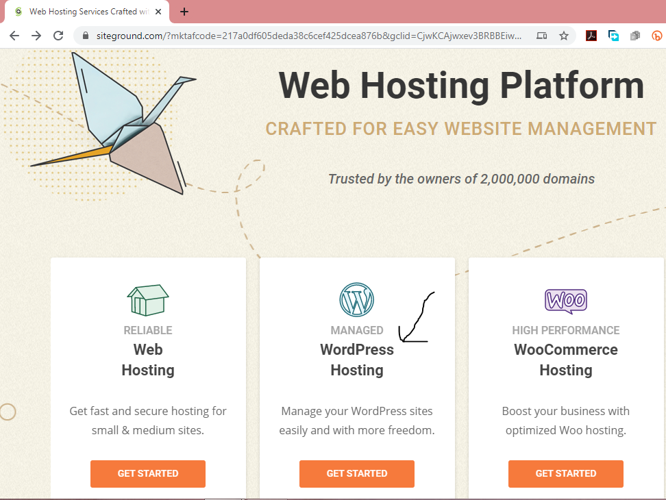 Web Hosting Services by SiteGround