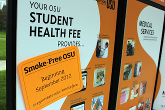 Photo: Smoke Free! Coming soon to a campus near you.