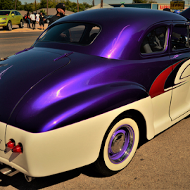 Purple Candy in the sun by Benito Flores Jr - Transportation Automobiles ( sunlight, candy, purple, texas, car show, killee,  )