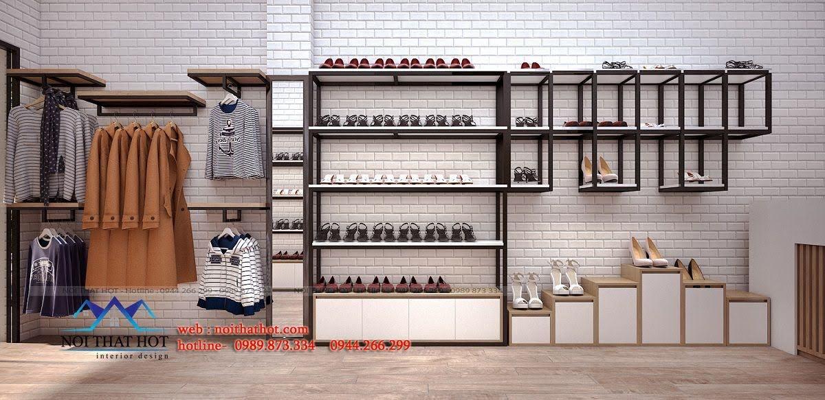 thiết kế shop giày dép 4