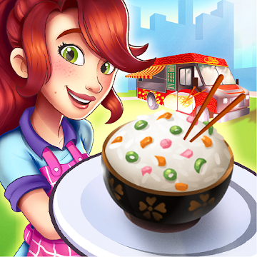 Chinese California Truck - Fast Food Cooking Game