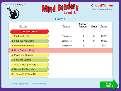 Mind Benders® Level 3- screenshot thumbnail