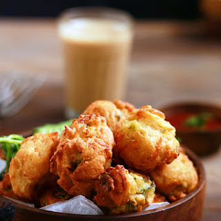 veg fritters recipe | Indian style veg fritters