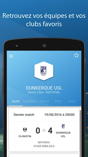 Le Foot Amateur, Matches & Ligues 3.0.9 screenshots 2