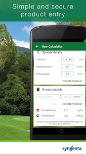 Syngenta GreenCast® Turf App- screenshot thumbnail