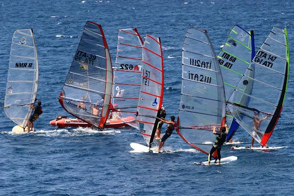 wind surf in allegria di Fiorenza Aldo Photo