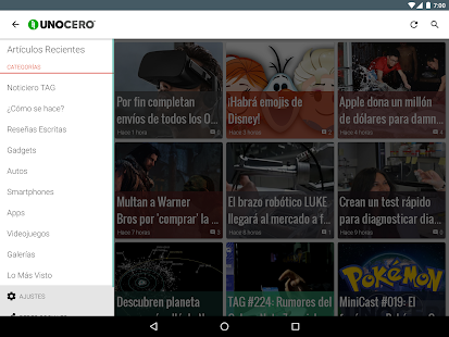 unocero- screenshot thumbnail