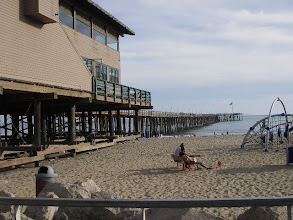 Photo: Pier and restaurants at Venrura promenade. 5 minute drive from our house, or a 20 minute walk .