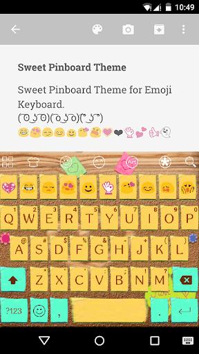 Pinkboard Emoji Keyboard Theme