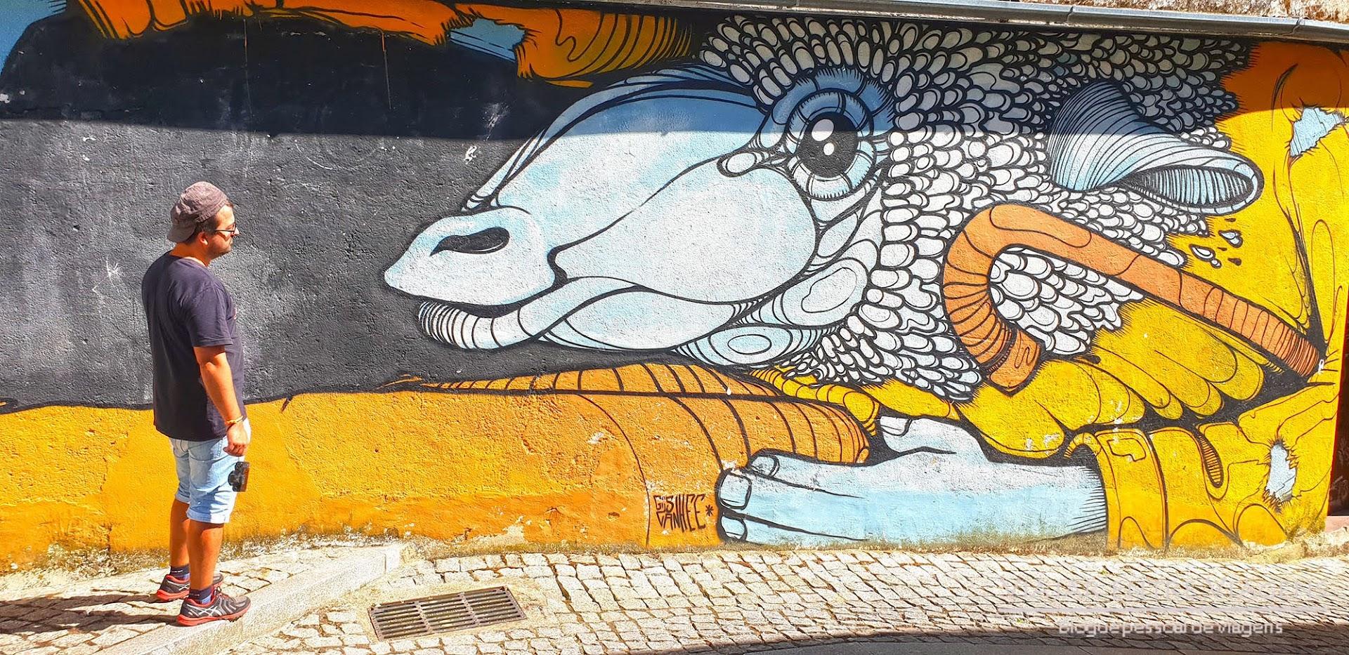 COVILHÃ - Roteiro para visitar o centro histórico e arte urbana