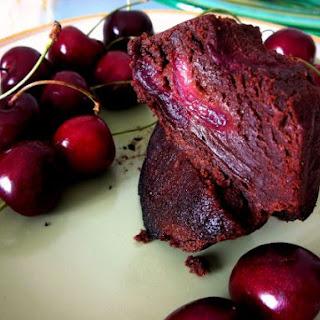 Chocolate Cherry Brownie