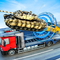 Highway Car Transform Tank Stunt Racing 2019 icon