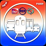Transporter - RATP SNCF, RER, Metro, Train Route