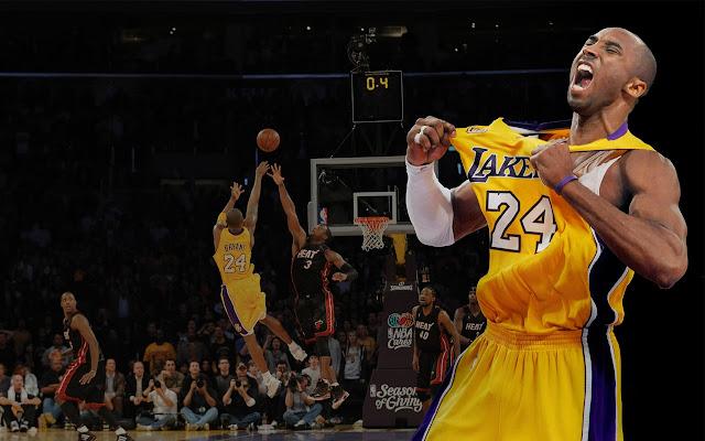 客場消音器!Kobe Bryant職業生涯對陣各支球隊超強進球,球迷都為之驚歎!(影)