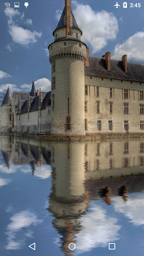 Castle Reflected In The Lake