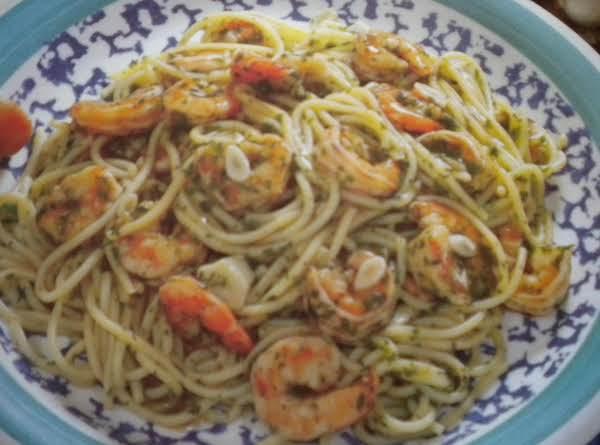 Garlic Shrimp And Pasta Recipe
