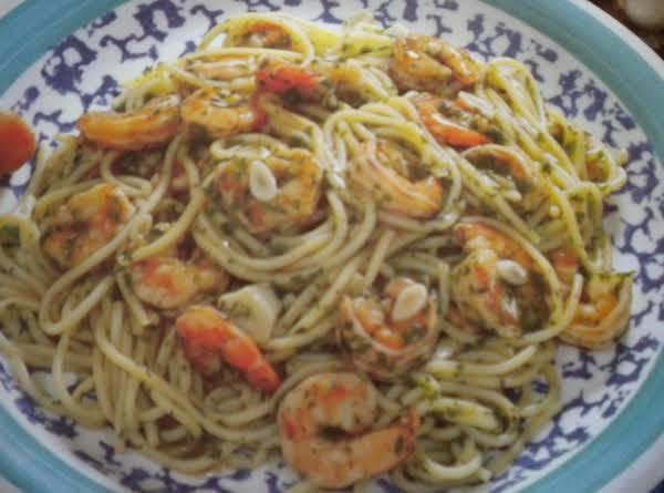 Garlic Shrimp And Pasta