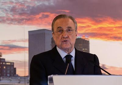 Florentino Perez réélu président du Real Madrid