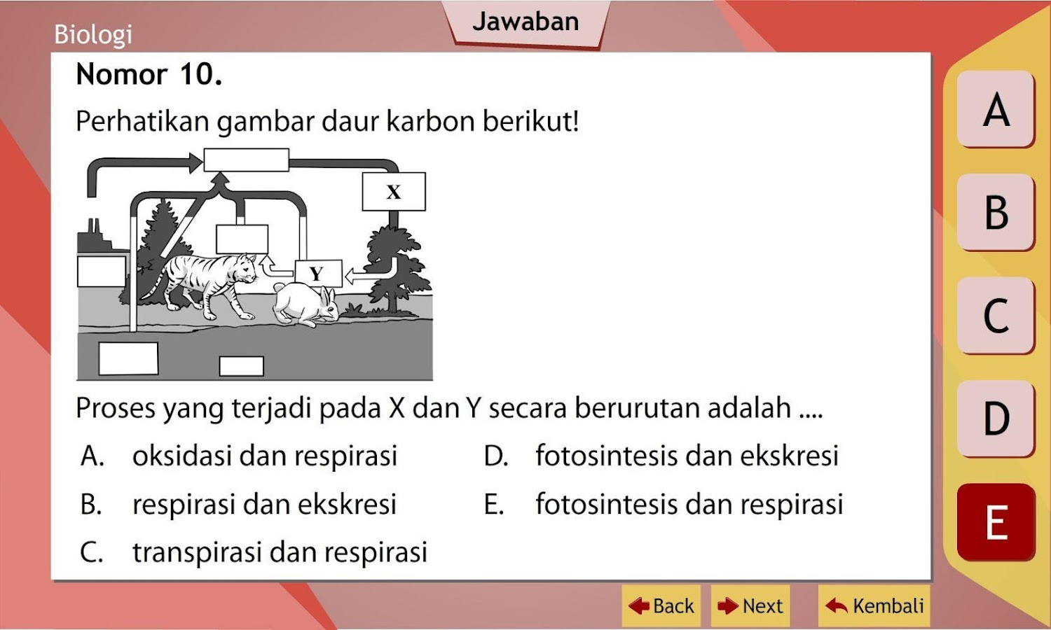 Unbk Biologi Sma Ma Android Apps On Google Play