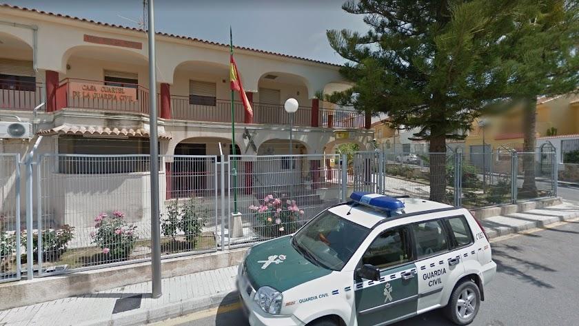 Cuartel de la Guardia Civil de Berja. / Google Maps