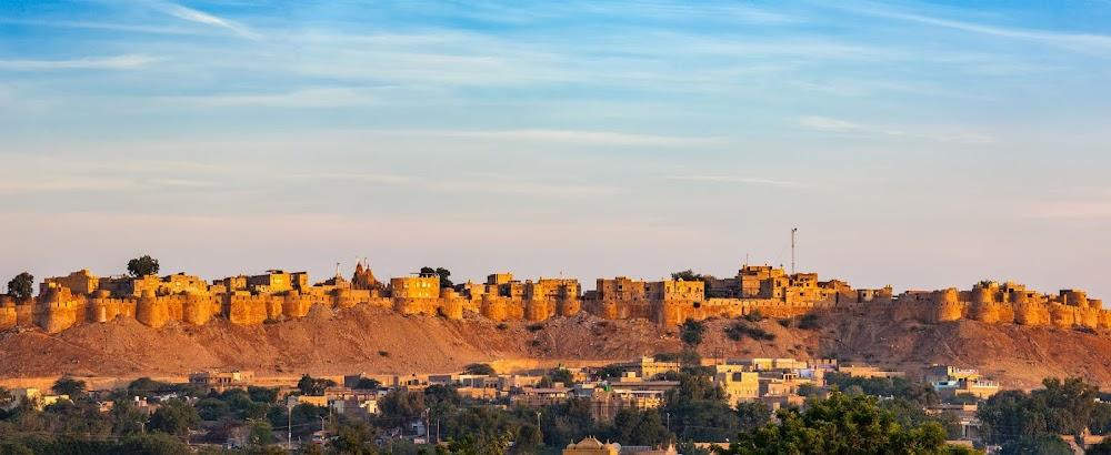 unique_places_in_india_Jaisalmer_Fort